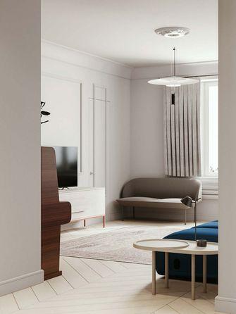 20万以上110平米三室两厅北欧风格客厅设计图