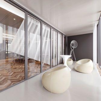 140平米三中式风格阳台设计图