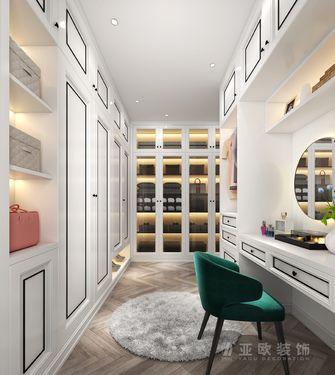 豪华型140平米四室两厅法式风格衣帽间设计图