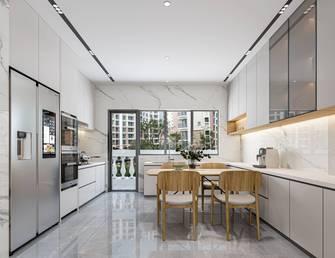 豪华型140平米三室两厅日式风格餐厅装修效果图