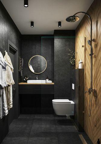 60平米一居室美式风格卫生间欣赏图