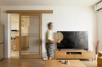 豪华型90平米日式风格客厅图片