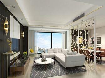 120平米四室两厅轻奢风格客厅装修案例