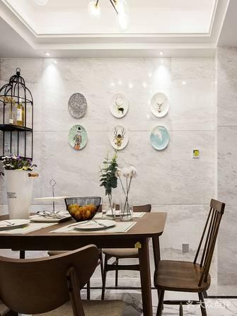 130平米三北欧风格餐厅图片