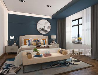 20万以上140平米三室两厅中式风格卧室欣赏图