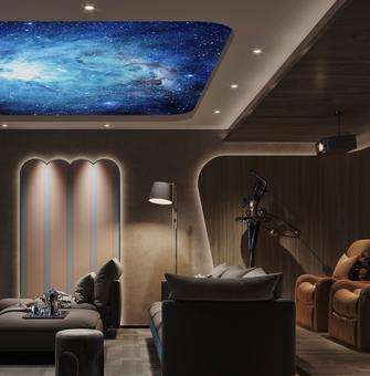 30平米小户型混搭风格客厅设计图