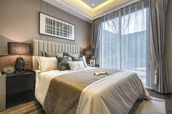 20万以上100平米三室一厅轻奢风格卧室图