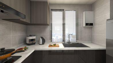 5-10万90平米四室两厅中式风格厨房设计图