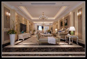 90平米别墅欧式风格客厅效果图