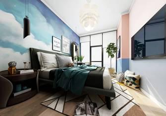 50平米公寓英伦风格卧室图