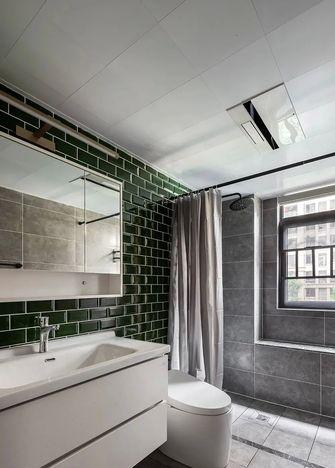 富裕型90平米三室两厅混搭风格卫生间装修案例