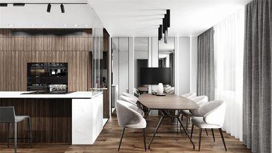 10-15万140平米四室两厅现代简约风格餐厅欣赏图