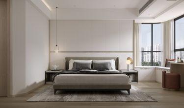 富裕型140平米四现代简约风格卧室装修图片大全