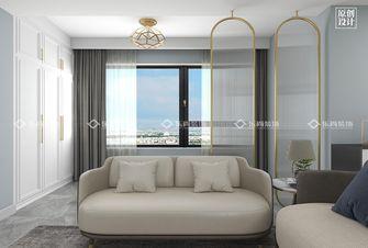 富裕型三室两厅现代简约风格客厅装修图片大全