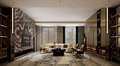 140平米四港式风格客厅装修案例