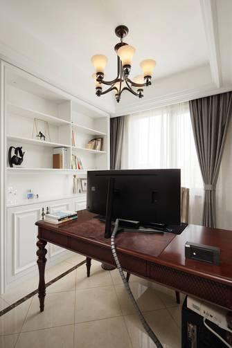 豪华型130平米四美式风格书房装修效果图