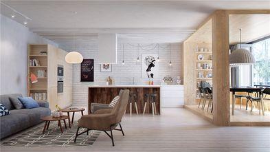 100平米一室两厅北欧风格客厅装修案例