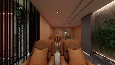 140平米公装风格阳光房设计图
