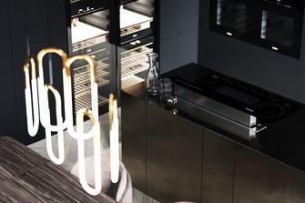 20万以上140平米四工业风风格厨房装修案例