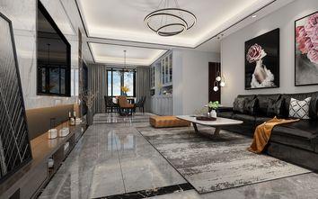 100平米三轻奢风格客厅装修案例