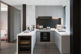 70平米三室一厅现代简约风格厨房欣赏图