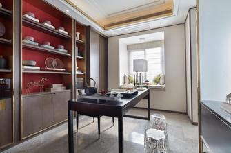 富裕型140平米四室三厅轻奢风格客厅装修案例