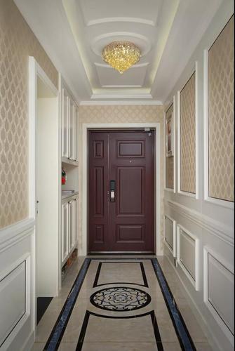 140平米三室一厅欧式风格玄关图