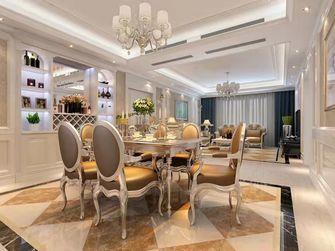 经济型110平米三欧式风格餐厅装修案例