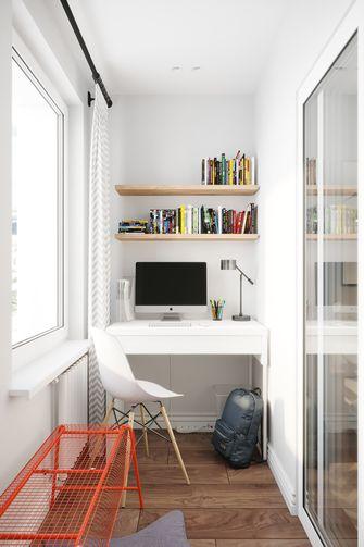 经济型120平米三室两厅北欧风格卧室设计图