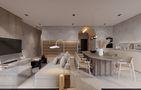 经济型140平米四室一厅北欧风格客厅装修效果图