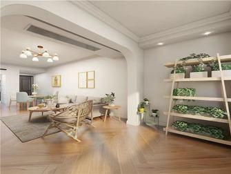 5-10万60平米一居室北欧风格阳台设计图