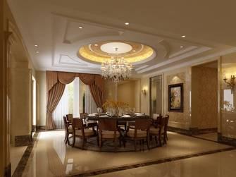 20万以上140平米别墅新古典风格餐厅效果图