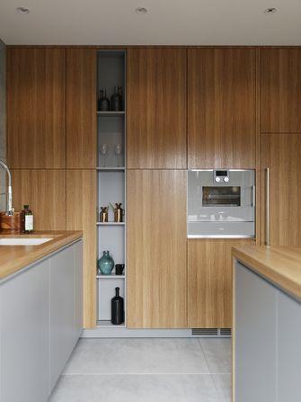 富裕型100平米三室两厅轻奢风格厨房欣赏图