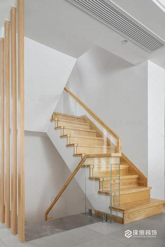20万以上140平米四室两厅日式风格楼梯间图片大全