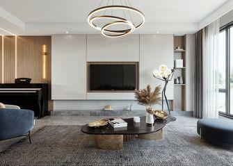 富裕型140平米四室两厅现代简约风格客厅图片大全