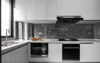 130平米四室一厅美式风格厨房图片