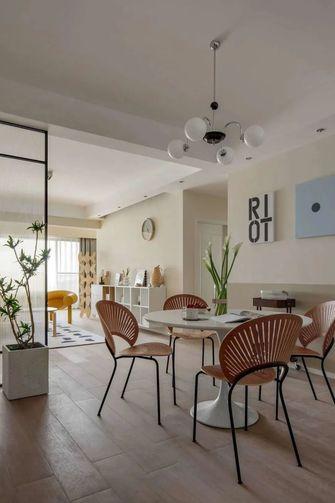 富裕型120平米三室两厅北欧风格餐厅效果图