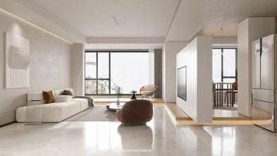豪华型130平米四室两厅现代简约风格客厅装修效果图