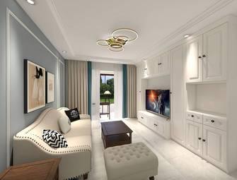 富裕型一室一厅美式风格客厅欣赏图
