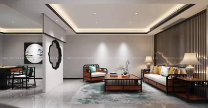 140平米别墅中式风格影音室图片大全