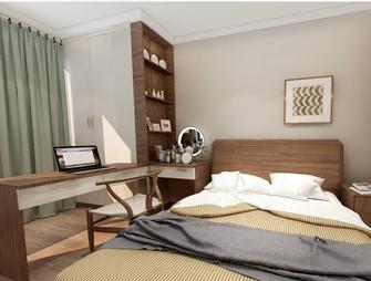 60平米三室两厅美式风格卧室图