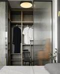 富裕型130平米三室两厅北欧风格衣帽间欣赏图