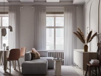 经济型30平米小户型北欧风格客厅效果图