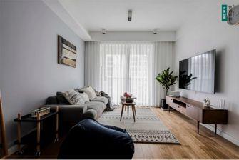 20万以上80平米三室两厅北欧风格客厅图