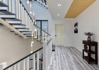 20万以上120平米三室一厅北欧风格楼梯间设计图