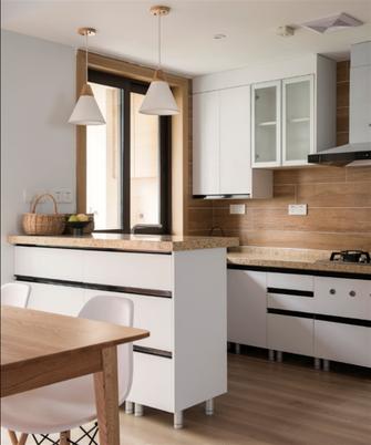 20万以上100平米三室两厅日式风格厨房设计图