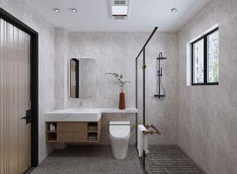 经济型100平米三室两厅日式风格卫生间图片