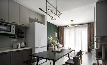 经济型80平米三室一厅新古典风格餐厅欣赏图