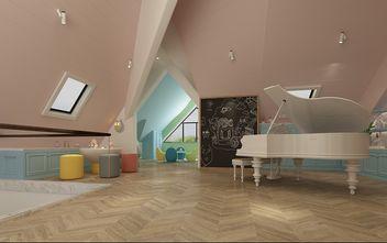 豪华型140平米别墅现代简约风格阁楼图