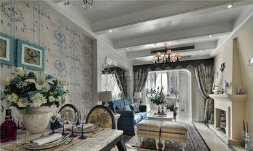 富裕型110平米三室一厅欧式风格客厅装修图片大全